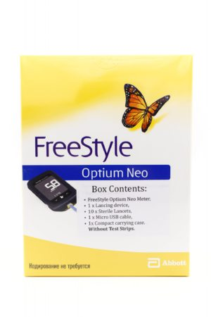 FreeStyle Optium Neo Blood Glucose and Ketone Monitoring System
