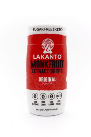 Lakanto Liquid Monk Fruit Extrack Drops 52ml