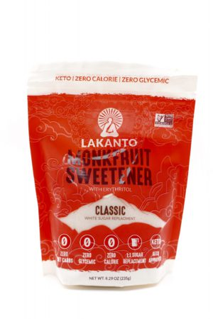 Lakanto Monkfruit Sweetener with Erythritol, Classic 235g