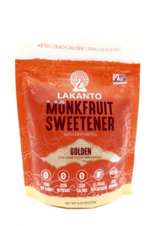 Lakanto Monkfruit Sweetener with Erythritol, Golden 235g