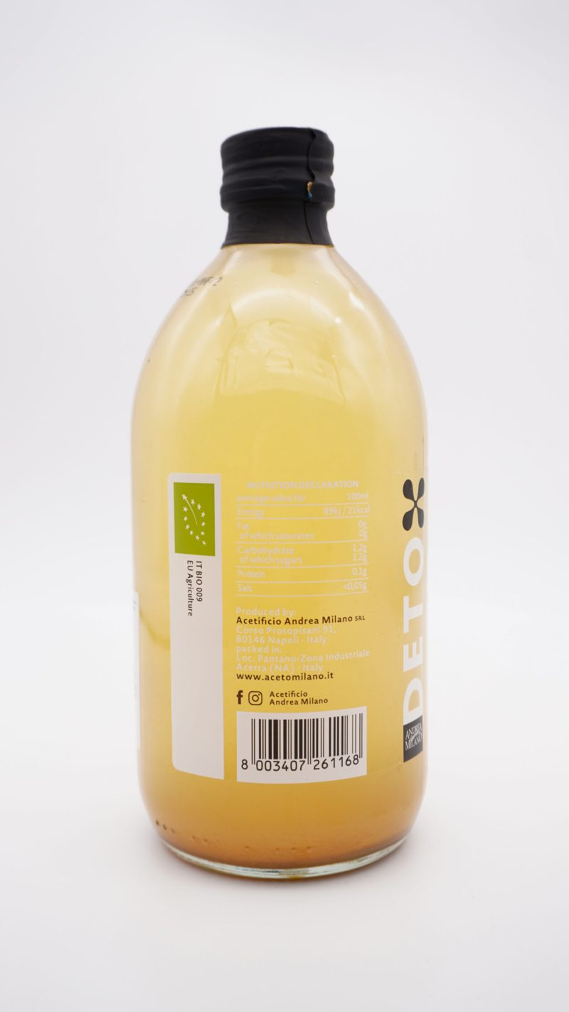 ANDERA MILANO DETOX Organic Apple Cider Vinegar With 'Mother'