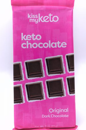Kiss my keto Keto Dark Chocolate, Original