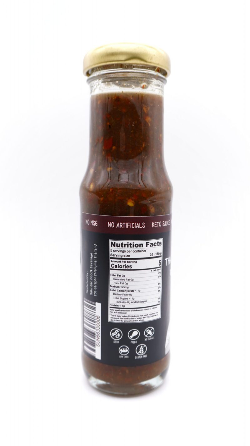 SUNTURI Keto Thai Spicy Sauce 150ml