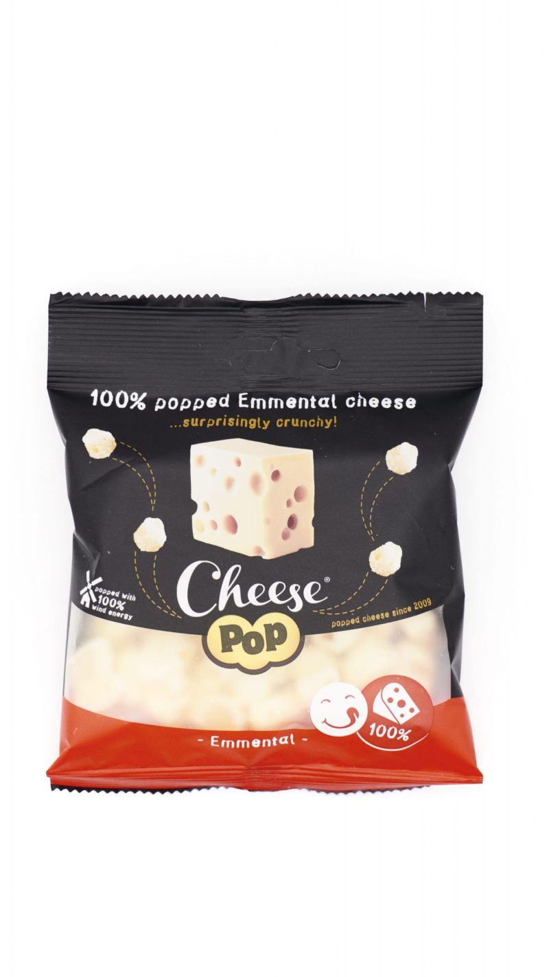 Cheesepop 100% Netherlands Emmental Cheese flavor 20g