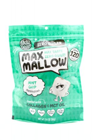 Know Brainer Max Mallow Mint Chip Flavor 96g