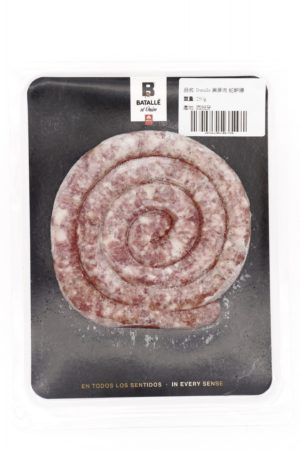 Batalle Pure Breed DUROC Single Long Sausage ~250g