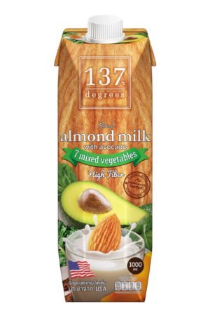 137 Degrees Almond Milk with avocado 1L