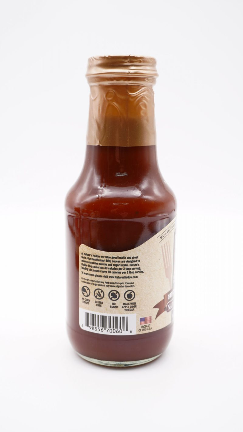 Nature's Hollow Hickory Maple BBQ sauce